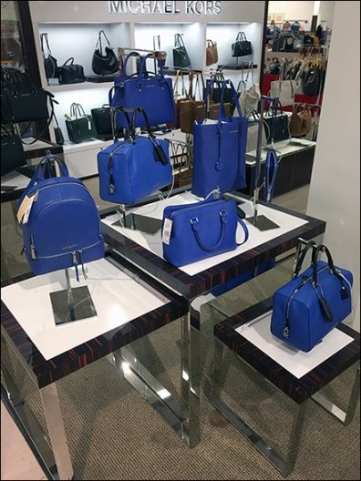 Michael Kors Color Coordinated Flight of Purses 2