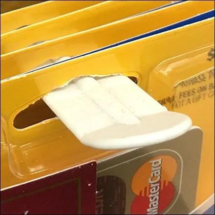 Money Card Clip-On Plastic Butterfly Hook