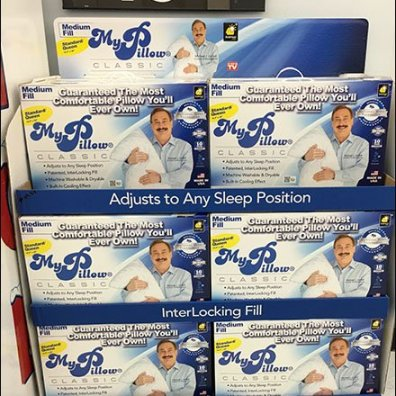 My PIllow Rollout Point-of-Purchase Display