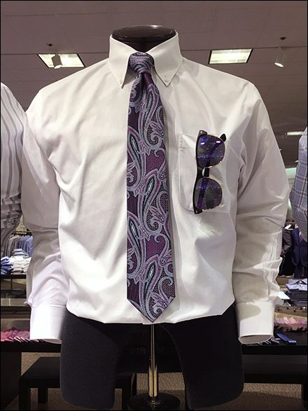 Necktie With Matvhing Sunglasses 3