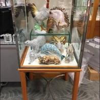 Museum Case Menagerie of Fine Porcelain