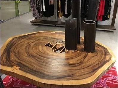 Neiman Marcus Wood Table Rings 3