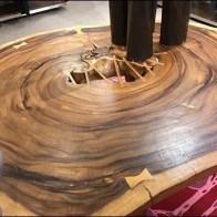 Neiman Marcus Wood Table Rings 4