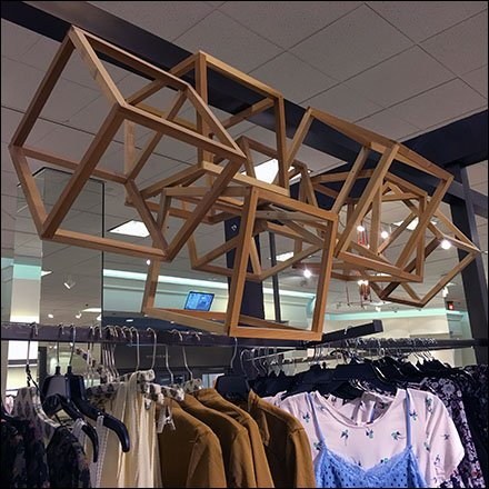 Floating Cubist Art At Nordstrom