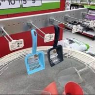 Petco Kitty Litter Try-Me Sandbox Straight Entry Bar Hooks 1