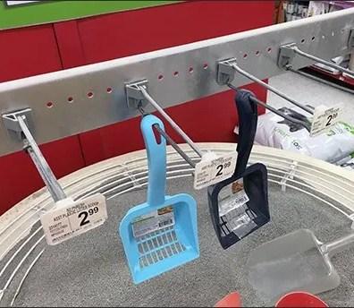 Petco Kitty Litter Try-Me Sandbox Straight Entry Bar Hooks 2