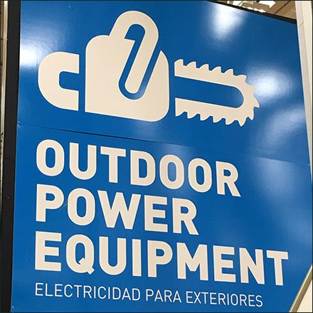 Outdoor Power Tools Store Fixtures - Super-Size Your Category Definition
