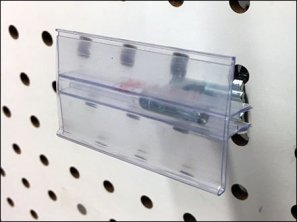 Right-Angle Wall Tag Extruded Label Holder 2