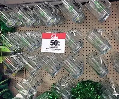 St Patricks Day Glass Mugs Hooked 3