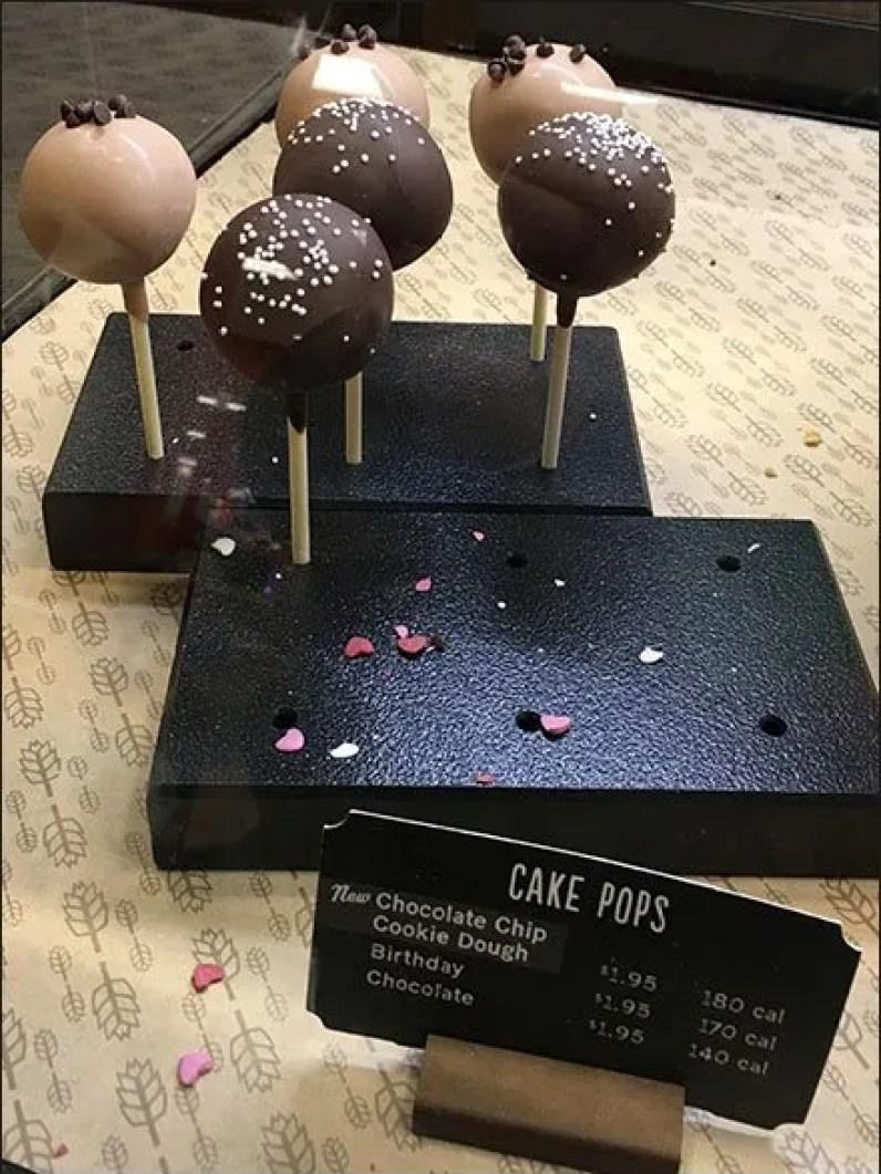 Starbucks Cake Pops Lollipops 3