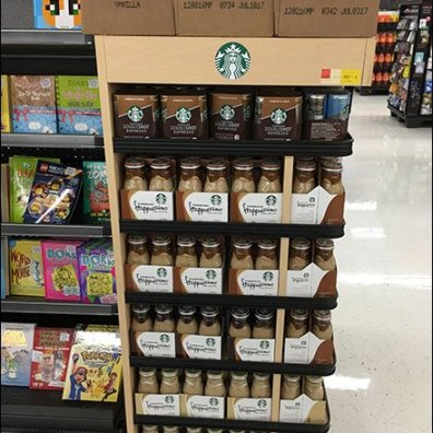 Starbucks Mini Cooler Maxi Endcap Display