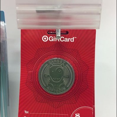 Target Gift Coin Gift Card Scan Hook 2