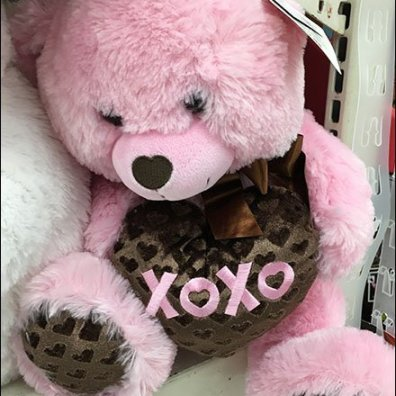 Valentine's Day Store Fixtures and Merchandising - Plush Shelf Messaging For Valentines Day