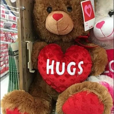 Valentines Day Plush Shelf Merchandising 2