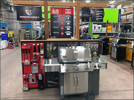 Seasonal Genesis of Weber Grills and Accessories