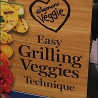 Wegmans Easy Grilling Veggies Technique Display 2