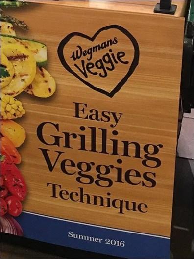 Wegmans Easy Grilling Veggies Technique Display 2