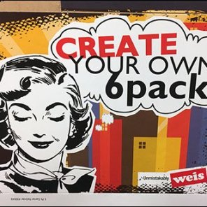 Create Your Own 6-Pack Finishing Touch