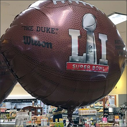 Wilson Football SuperBowl Inflatables Featur