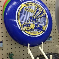 Pin-Stopped Waterfall Hooks for Heavy-Weight Frisbee Sales