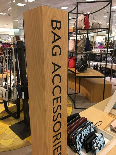 Bag Accessories Vertical Wood Signing Main 2