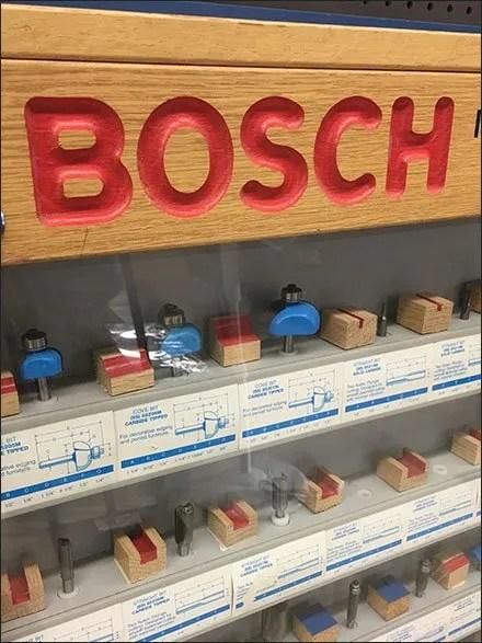 Bosh Router Endcap Display Case 3