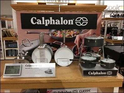 Calphalon Table Top Pot and Pan Display
