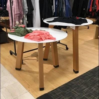 Circular Sawhorse Table Outfitting