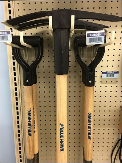 Double Arm Utility Hook Picks & Shovels 2