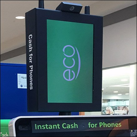 EcoATM Instant Cash for iPhone Feature
