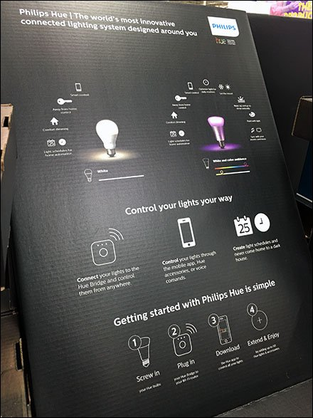 Hue Lighting Features and Benefits Icons