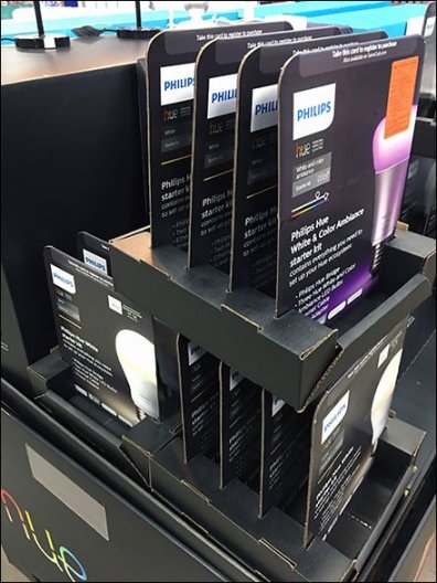 Hue Lighting Right-Angle Merchandising 2