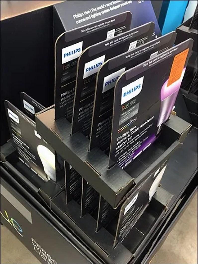 Hue Lighting Right-Angle Merchandising 3