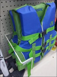 Light-Weight Life Vest Sold By Literature Holder