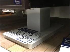 Mailbox Shelf-Top Post Stand 3