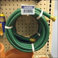 Metal Plate Utility Hook For Hose Feature