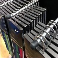 Nike Saddle Mount Bar Display Hook Caps