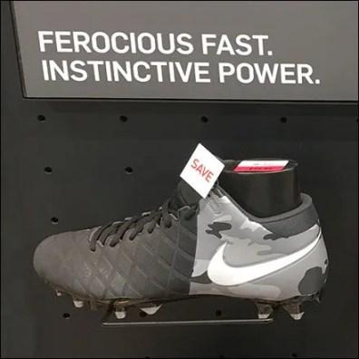 Ferocious Fast Nike Sneaker Alliteration