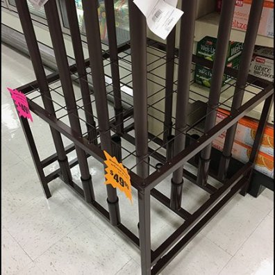 Patio Umbrella Floorstand Wire Grid 3
