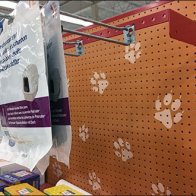 Petco Straight Entry Bar Hook as Pegboard Extender