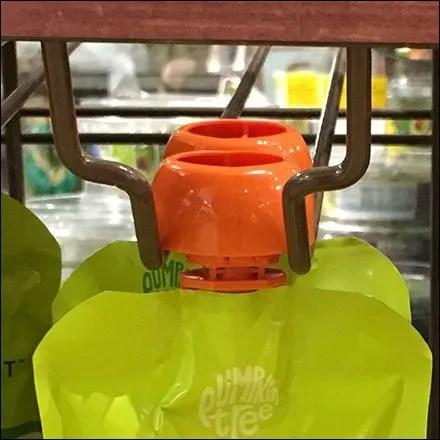 Peter Rabbit Organics Pouch Hook Closeup