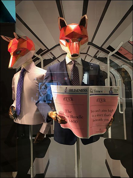Foxy Business Fashions Pink of London