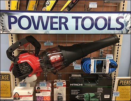 Power Tools On GridWall Display Hooks