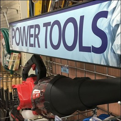Power Tools Leaf Blower Grid Hook Feature