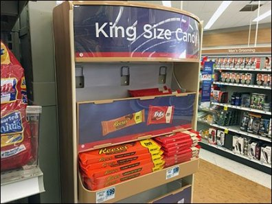Gravity-Feed PowerWing for King Size Candy