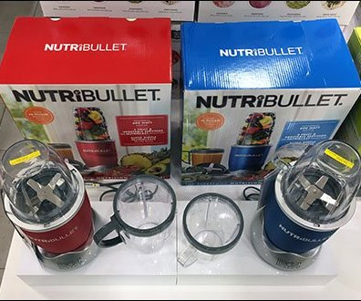 Small Appliance Nutribullet Color Choice On Display