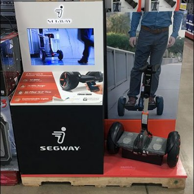 Segway Retail Point-of-Purchase Video