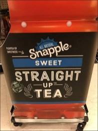 Giant Snapple Straight Up Sweet Tea Display