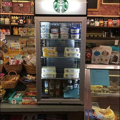 StarBucks Cooler Repurposing for Cheese