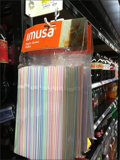Drinking Straw Strip Merchandiser Cross Sell